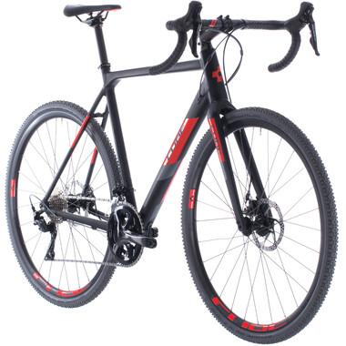 Vélo de Cyclocross CUBE CROSS RACE Shimano 105 R7000 34/50 Noir/Rouge 2020